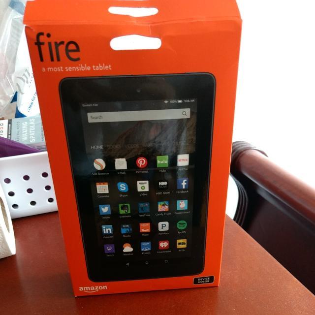 "Kindle Fire 7"" 5th Gen Tablet + E-reader"