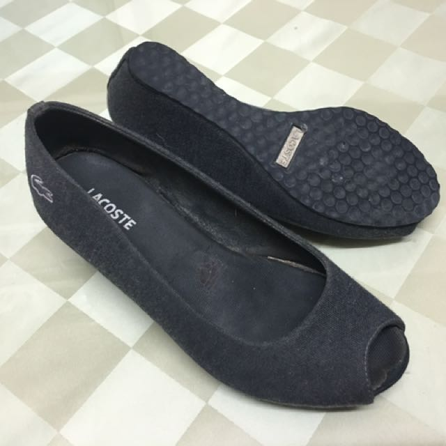 Lacoste Dark Grey Wedge