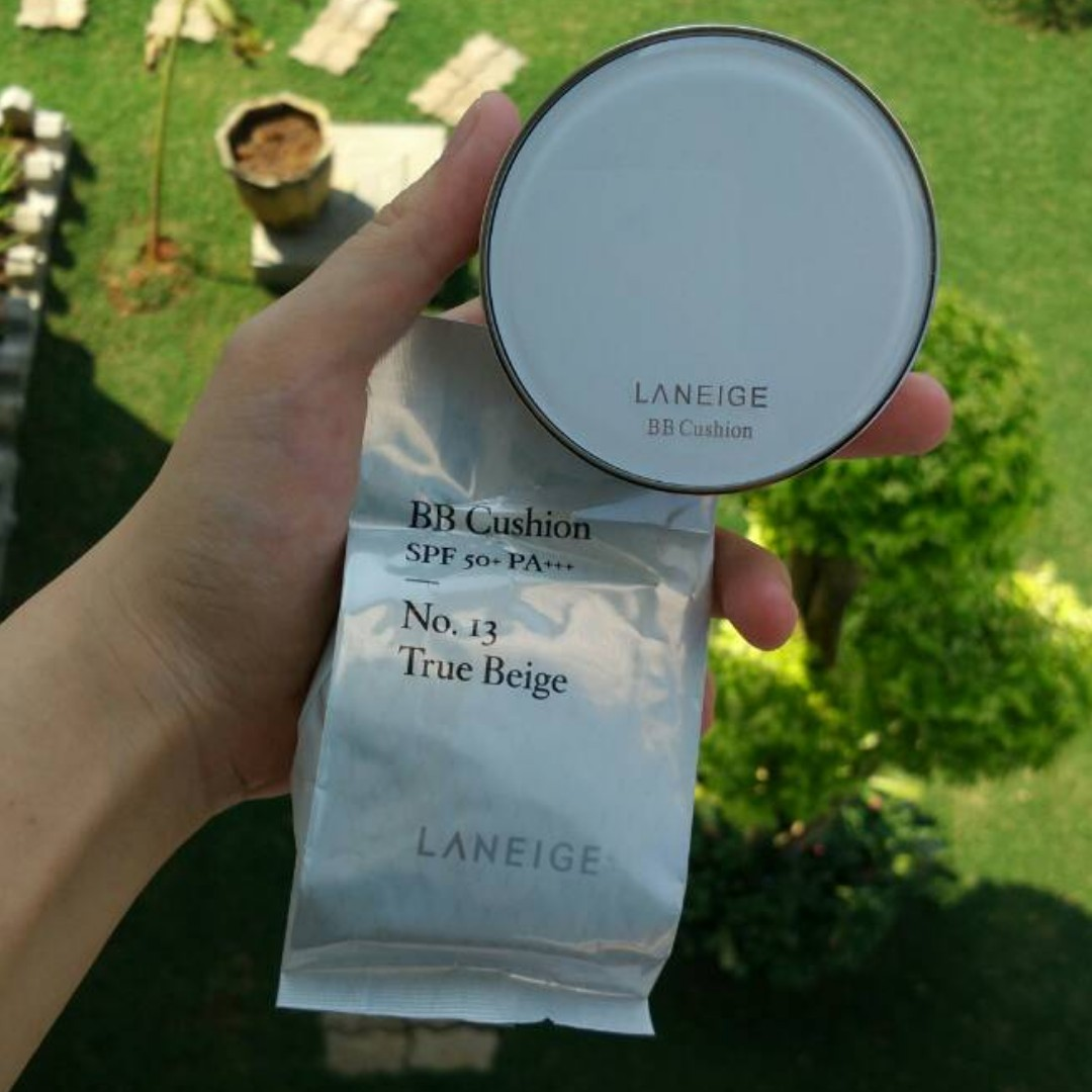 LANEIGE BB Cushion SPF 50+ PA+++ (Case + isi + refill)