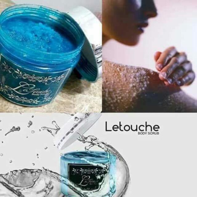 Le Touche Sea Salt Scrub
