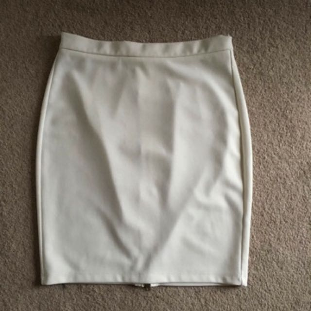 Leather Skirt Size 8-10