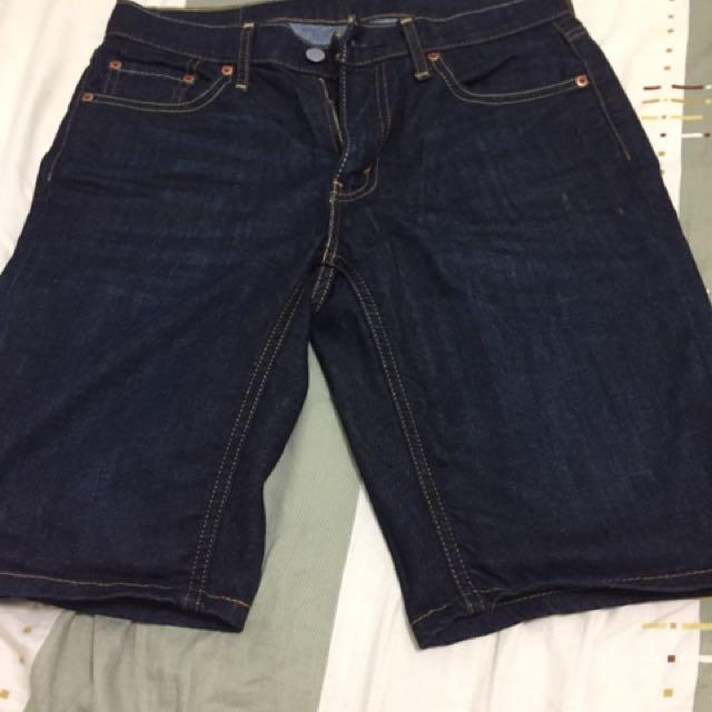 Levi's 原色牛仔短褲