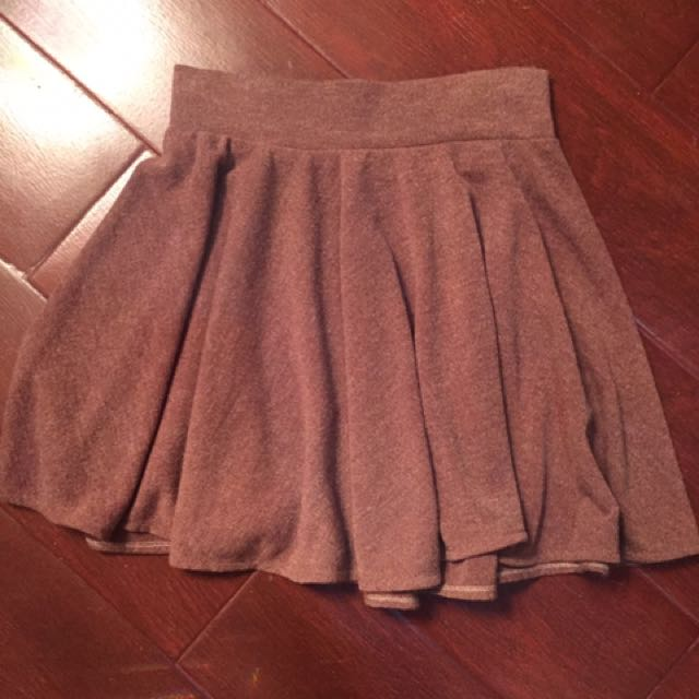 Light Brown Skater Skirt 37fe1eabd