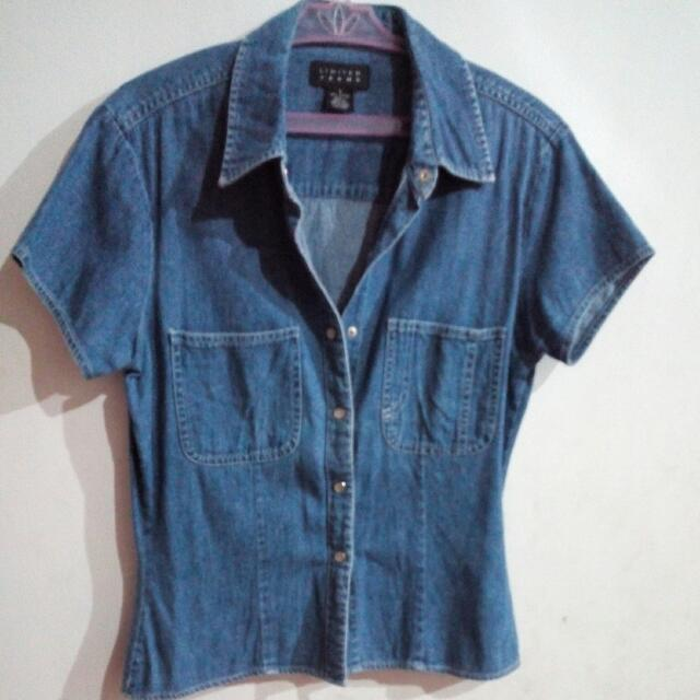 Limited Jeans Denim Top