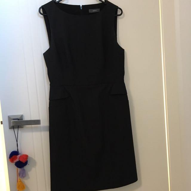 Marcs Corporate Dress - Size 10, Grey