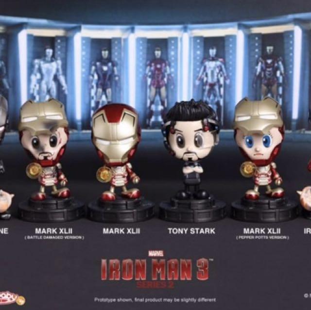 Marvel Cosbaby Series IronMan 3