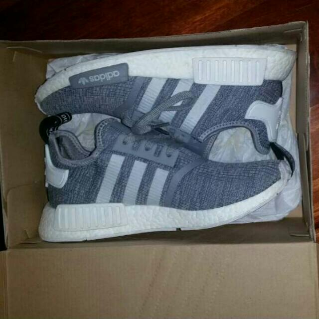 US9NMD R1 GLITCH GREY