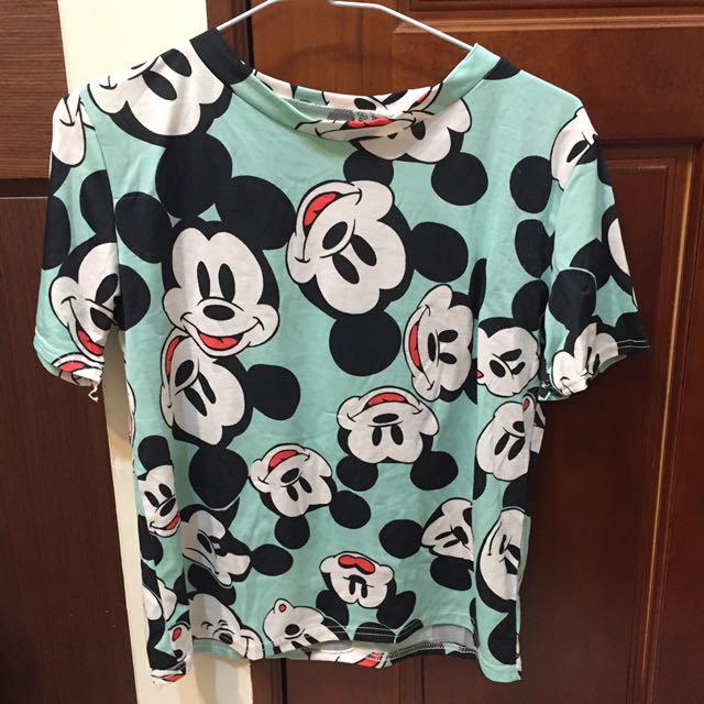 Mickey 短版上衣
