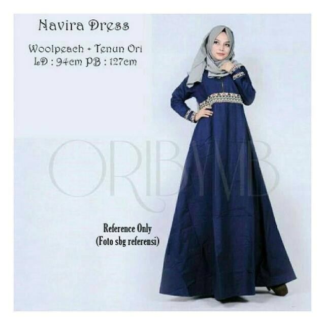 Navira Dress Navy