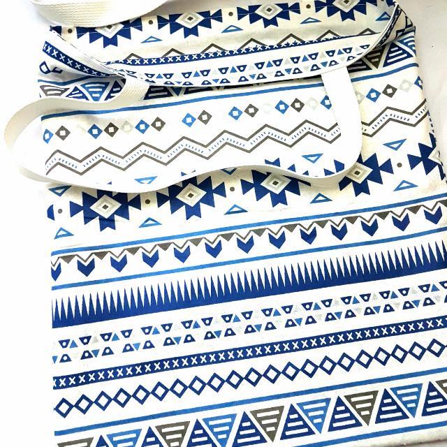 [NEW] [HANDMADE] Blue & White Tote Bag