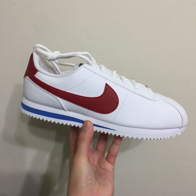 Nike Cortez 阿甘 紅藍白 經典
