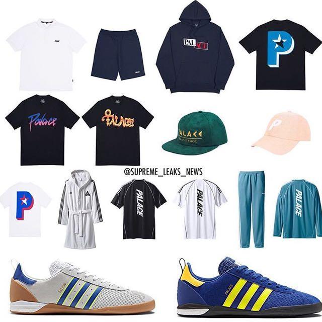 c79b8c21e6c9 Palace X Adidas Drop