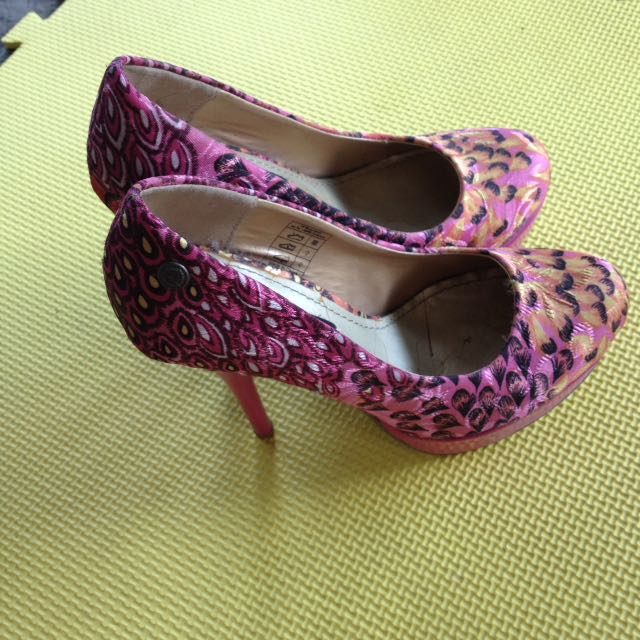 Peacock Heels Imported In Germany