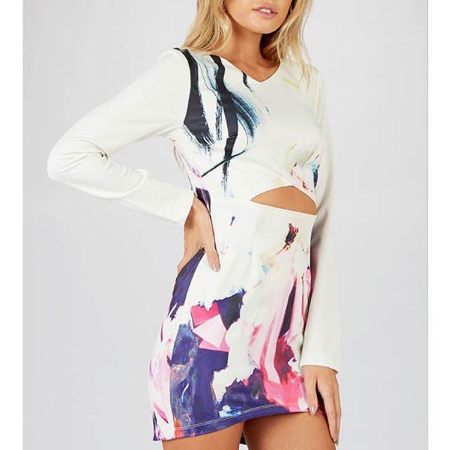 Peppermayo printed Dress