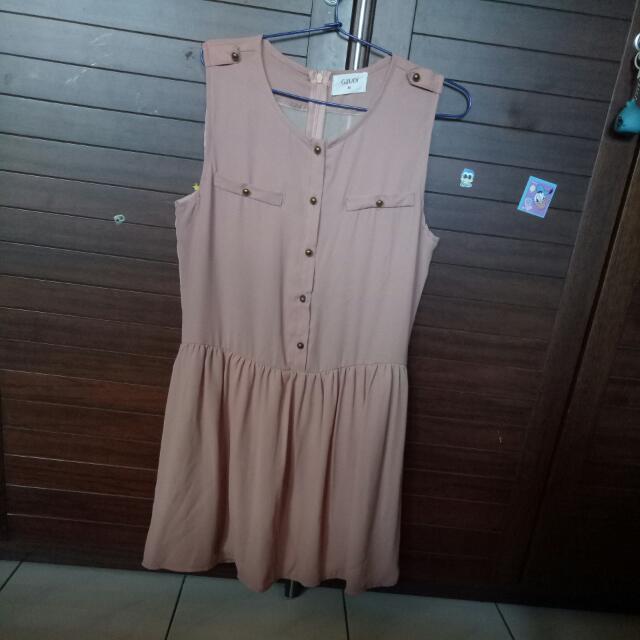 (NEW)  Pink Gaudi Dress