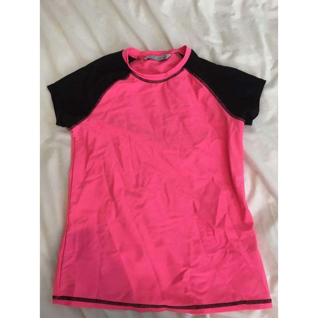 Pink Rash Top