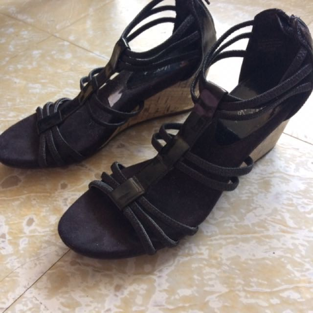 Repriced!!! Black Payless Sandals