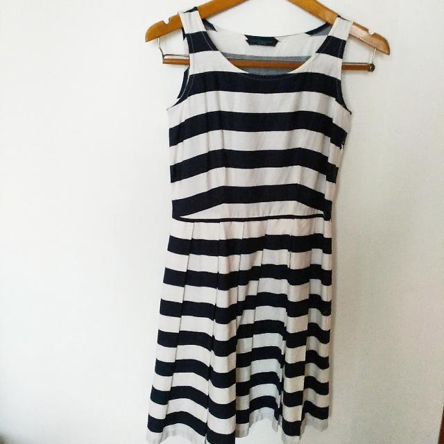 Preloved Stripe Dress Contempo