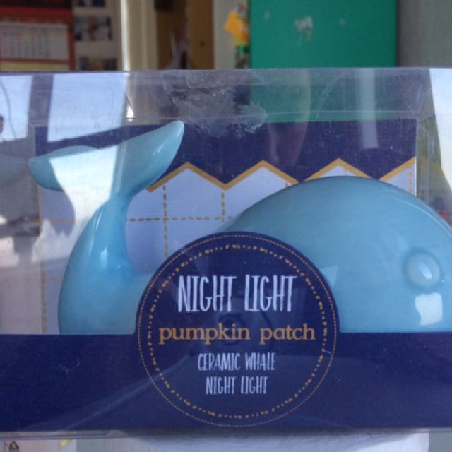 Pumpkin Patch Blue Whale