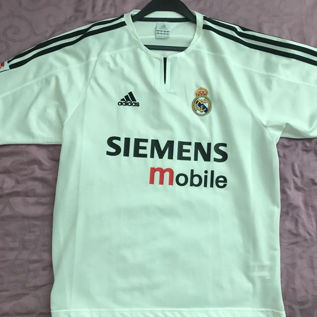 promo code 4ede9 a2e10 Real Madrid #7 Raul authentic jersey, Sports, Sports Apparel ...