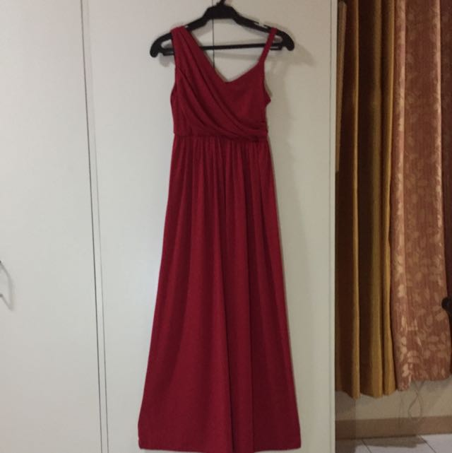 Red Evening Or Prom Gown (By Meg)