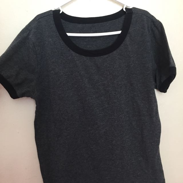 Ringed Grey Shirt