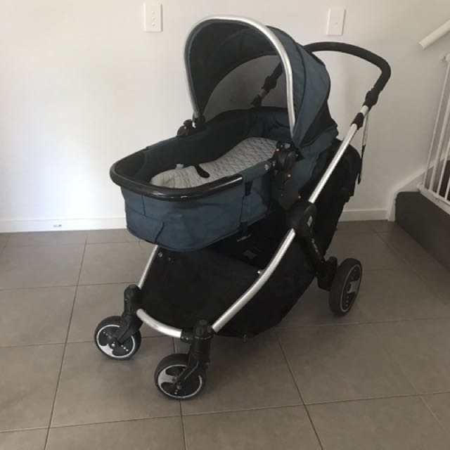 Rocking Chair, Change Table, Bassinet And Double  Stroller