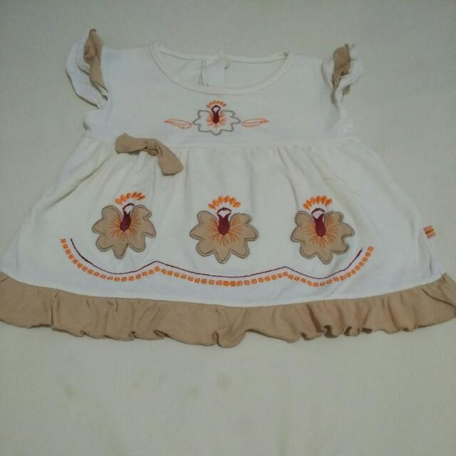 SALE - > DRESS BABY CREM