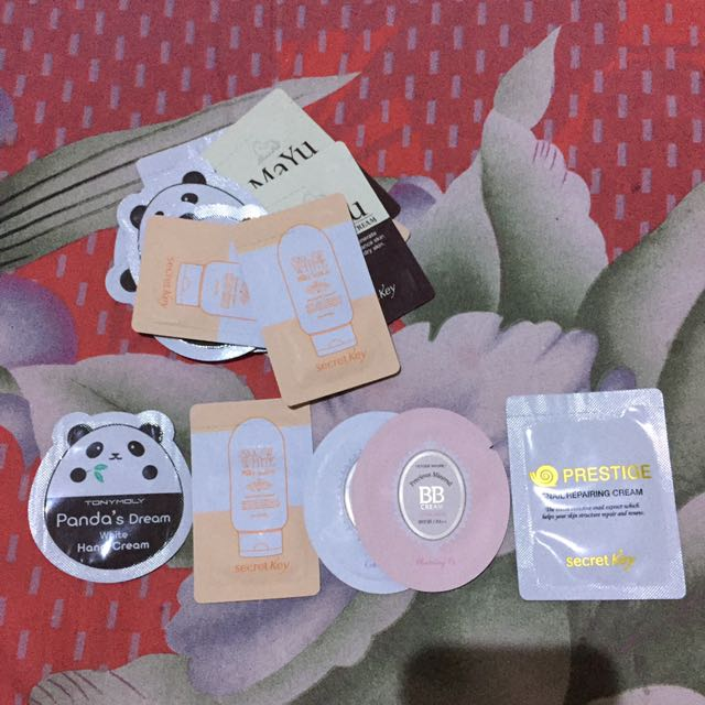 Sample Korean Cosmetics