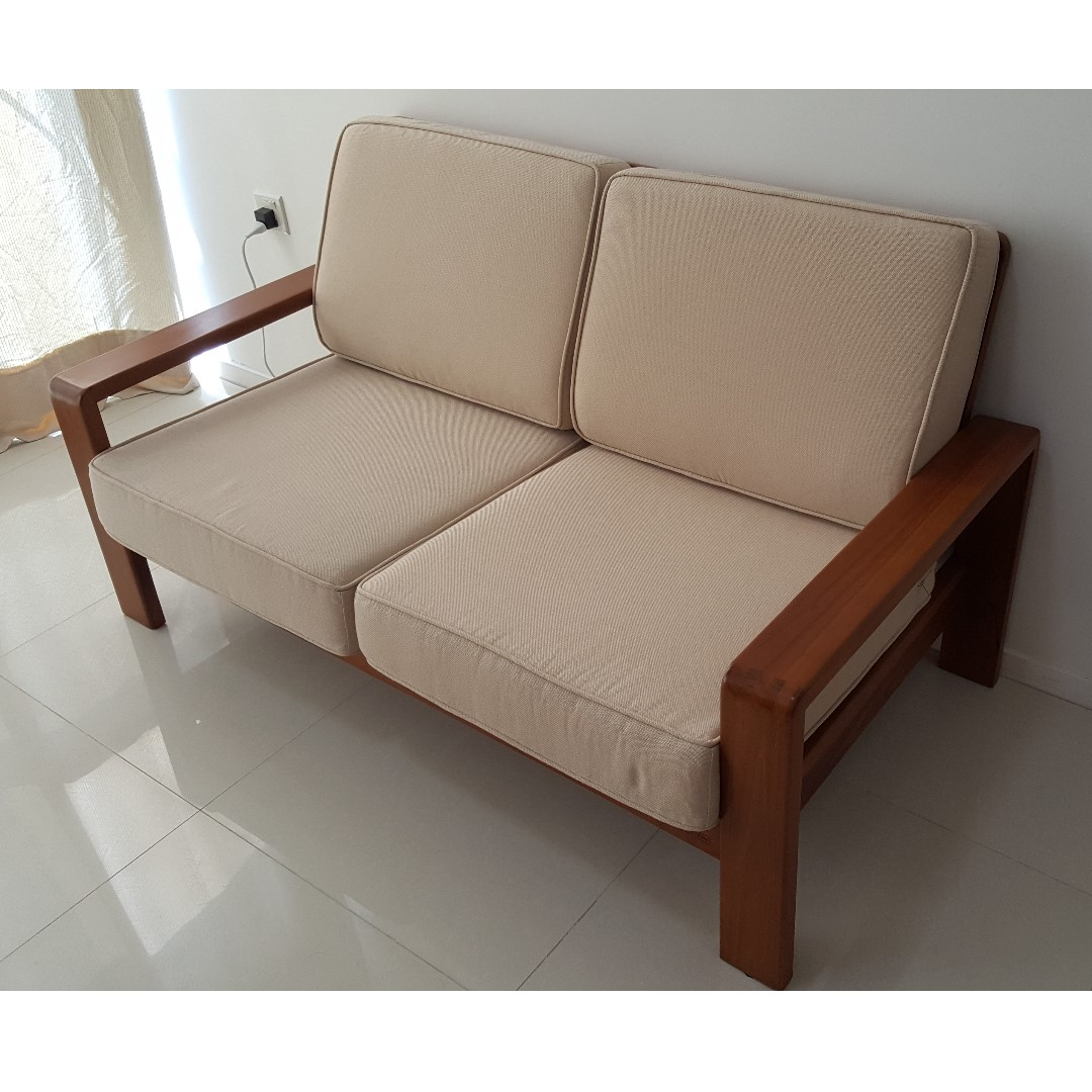 Scanteak IKON Sofa 2 Seater Scanteak IKON Sofa 2 Seater ...