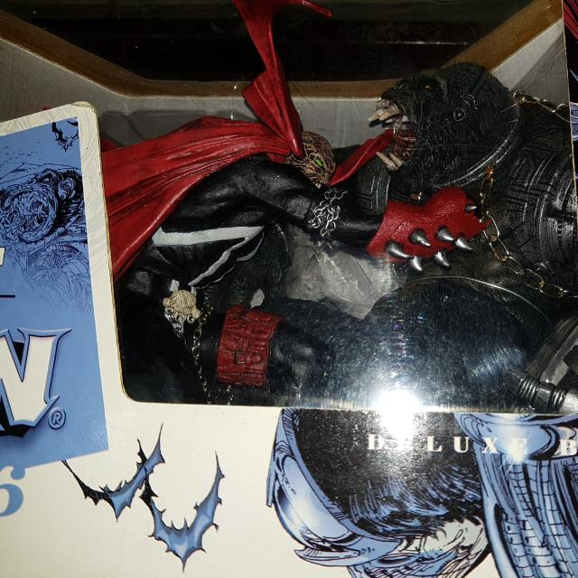 Spawn Vs. Cy.gor The Art Of Spawn Series 26