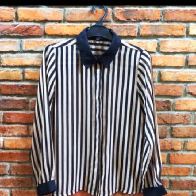 Stripped Shirt By Cole #clearancesale