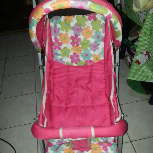 Stroller For Baby Girl w/ free Pillows