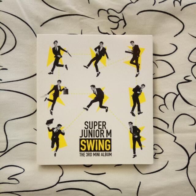 SUPER JUNIOR M SWING (Mini Album)
