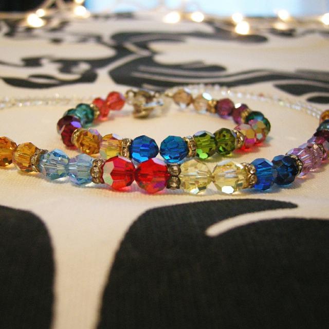Swarovski Necklace And Bracelet