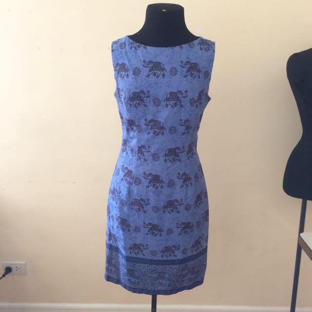Tailored Dress/thai Fabric