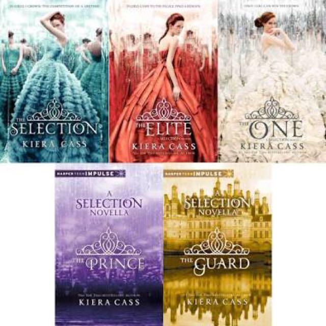 The Selection Trilogy E-BOOK link