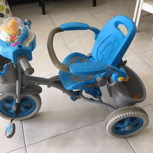 Three Wheels Bike For Kids Babies Kids Toys Walkers On Carousell