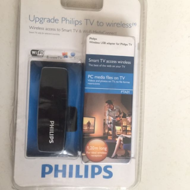Upgrade Philips TV To Wireless ( PTA01 ), Home Appliances