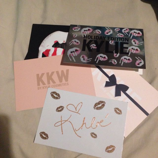 Wanted- Kylie Cosmetics Cards