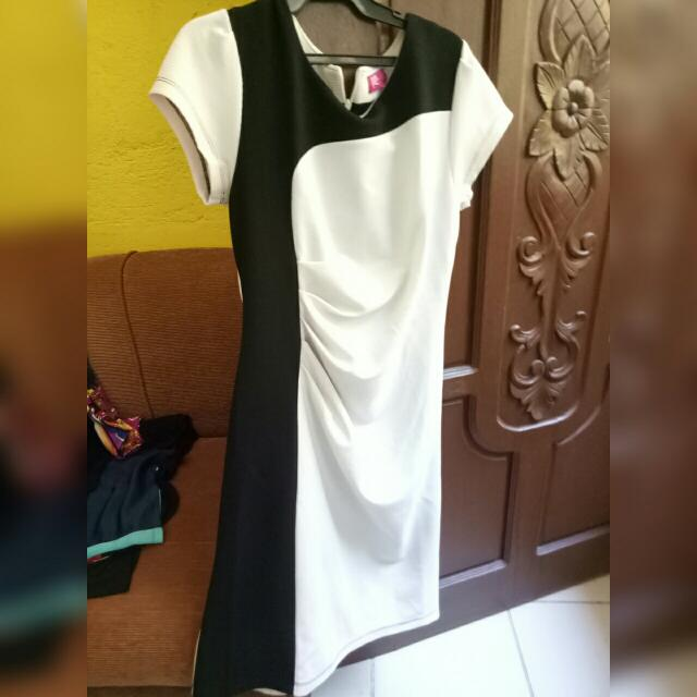White And Black Dress From BoardWalk