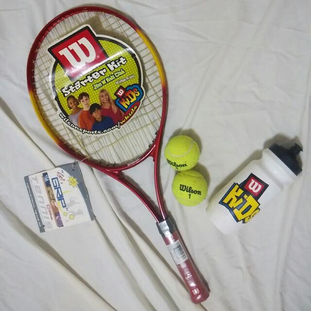 Wilson Tennis Starter Kit