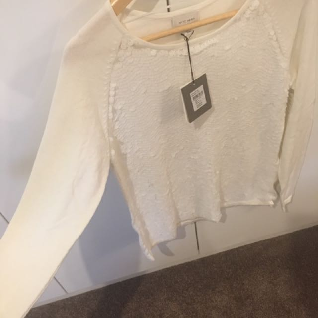 Witchery Top Size M - Brand New With Tags