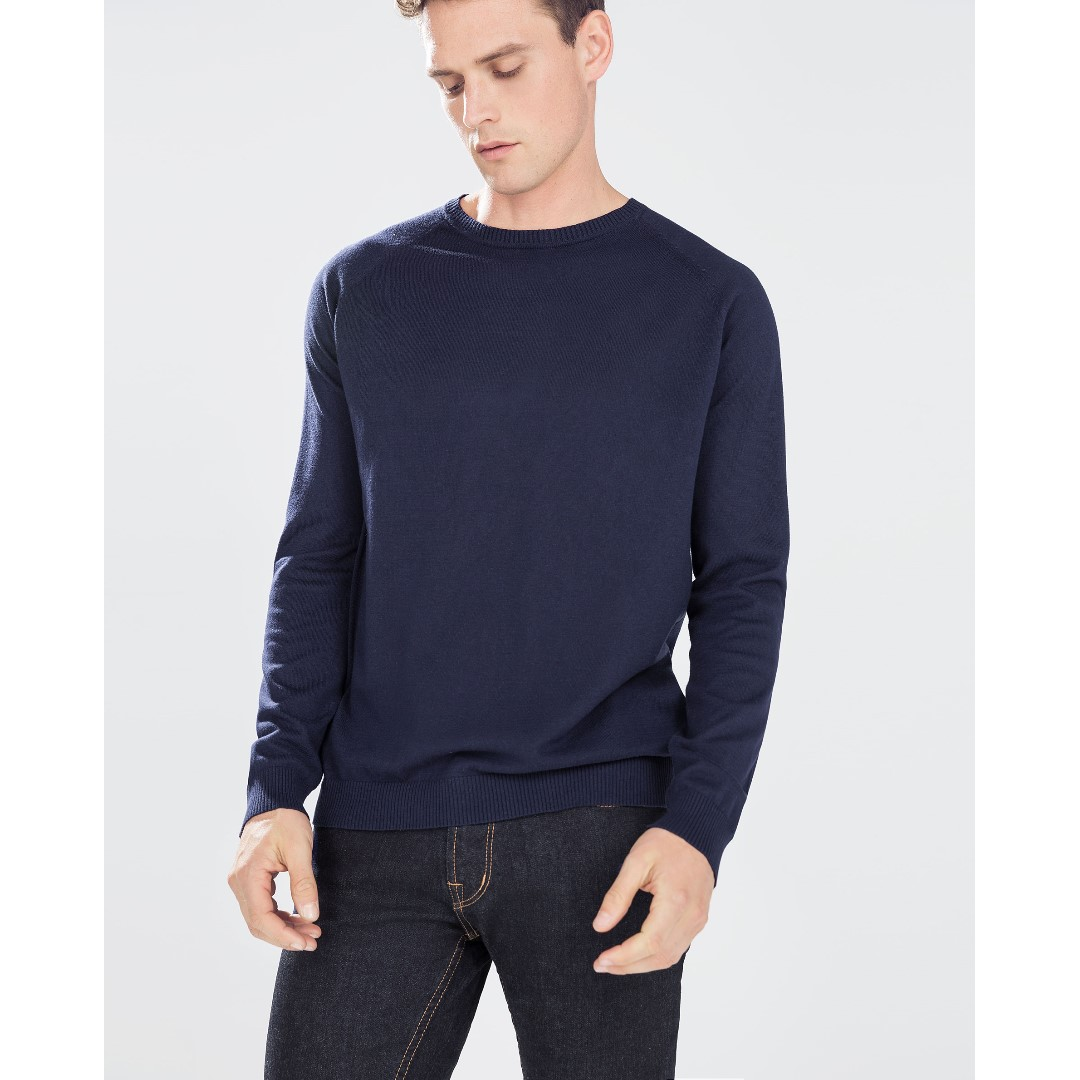 ZARA - Blue Sweater - 100% ORIGINAL