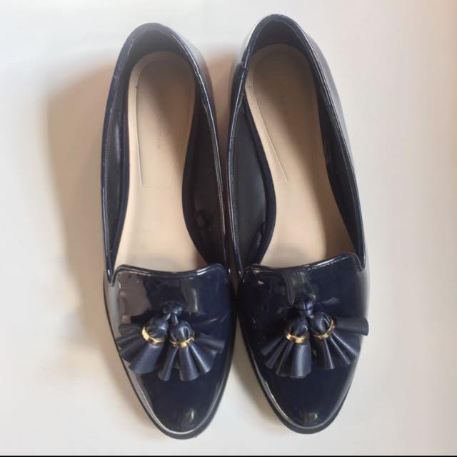 Zara 樂福鞋 Loafers 牛津鞋