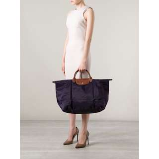 Longchamp Classic Travel Bag 可摺式手挽行李袋 大size
