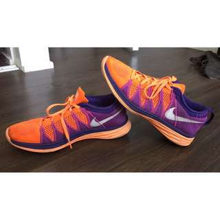 Women's Nike Flyknit Lunar 2 Running Shoes Size 8