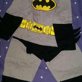 Baju Batman 6-7tahun