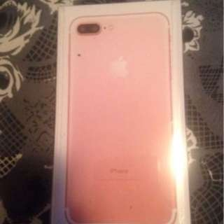 Brand new Iphone 7 Plus Rose gold 128 Gb