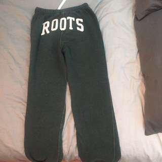 Green Roots Sweatpants